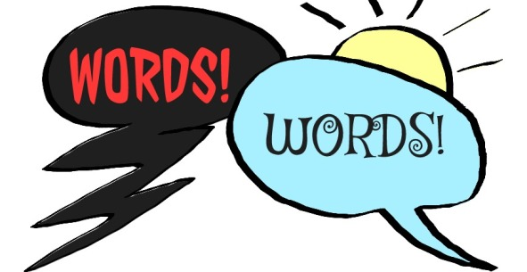 Words cartoon