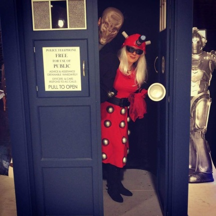 Dalek in the Tardis with The Silence.