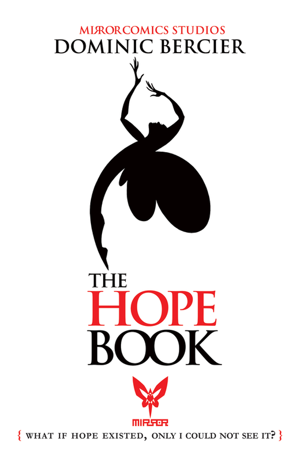 Book cover image: A silhouette of a fairy arched in a graceful dance against a white background.
